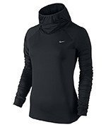 bluza do biegania damska NIKE ELEMENT HOODY / 685818-010