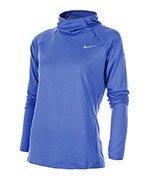 bluza do biegania damska NIKE ELEMENT HOODY / 685818-478