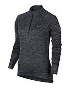 bluza do biegania damska NIKE ELEMENT SPHERE 1/2 ZIP / 686963-010