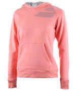bluza tenisowa damska BABOLAT SWEAT HODDIE CORE / 41F1588-156