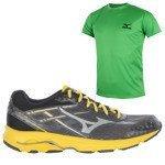buty do biegania męskie MIZUNO WAVE ADVANCE + koszulka GRATIS / J1GE144945