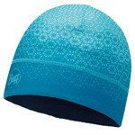 czapka do biegania BUFF MICROFIBER 1 LAYER HAT BUFF HAK TURQUOISE / 113251.789.10