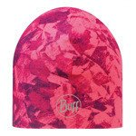czapka do biegania BUFF MICROFIBER 2 LAYERS HAT BUFF EROSION PINK / 111398.522