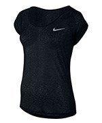 koszulka do biegania damska NIKE DRI-FIT COOL SHORT SLEEVE / 719870-010