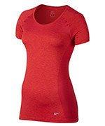 koszulka do biegania damska NIKE DRI-FIT KNIT / 718569-620