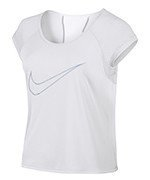 koszulka do biegania damska NIKE DRY TOP SHORT SLEEVE RUN FAST / 799574-100