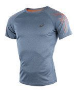koszulka do biegania męska ASICS SHORT SLEEVE STRIPE TOP / 126236-8151