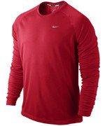 koszulka do biegania męska NIKE MILER LONGSLEEVE UV (TEAM) / 519700-688