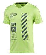 koszulka do biegania męska REEBOK ONE SERIES RUNNING REFLECTIVE / BR4361