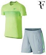 koszulka i spodenki tenisowe męskie NIKE Roger Federer Australian Open 2015