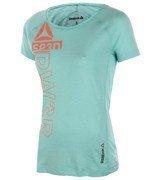 koszulka sportowa damska REEBOK ONE SERIES TRIBLEND CREW / B85393