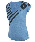 koszulka sportowa damska REEBOK ONE SERIES TRIBLEND V NECK TEE / AE5068
