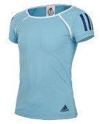 koszulka sportowa dziewczęca ADIDAS CLUB TEE / BK5867