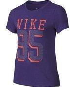 koszulka sportowa dziewczęca NIKE COTTON BRAND MARK TEE / 715074-547