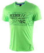 koszulka sportowa męska REEBOK WORKOUT READY GRAPHIC TECH TOP / AJ2906