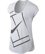 koszulka tenisowa damska NIKE BASELINE TOP / 728752-671