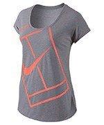 koszulka tenisowa damska NIKE PRACTICE TOP / 728752-005