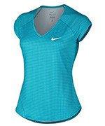 koszulka tenisowa damska NIKE PRINTED PURE TOP / 728759-407