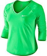koszulka tenisowa damska NIKE PURE TOP / 728791-300