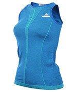 koszulka tenisowa damska Stella McCartney ADIDAS BARRICADE TANK / AZ2329
