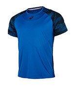 koszulka tenisowa męska ASICS CLUB GRAPHIC TOP / 141146-8154