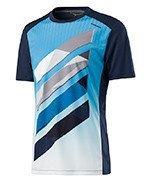 koszulka tenisowa męska HEAD VISION STRIPED SHIRT / 811317 NV