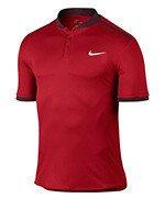koszulka tenisowa męska NIKE ADVANTAGE POLO SOLID / 729384-657