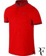 koszulka tenisowa męska NIKE ADVANTAGE PREMIER POLO Roger Federer Shanghai 2014 / 618924-600