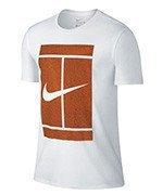 koszulka tenisowa męska NIKE COURT LOGO TEE / 777869-101