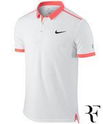 koszulka tenisowa męska NIKE PREMIER RF PRINTED Roger Federer US OPEN 2015 / 685219-100