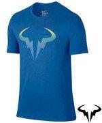 koszulka tenisowa męska NIKE RAFA POP T-SHIRT / 803884-446