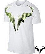 koszulka tenisowa męska NIKE RAFA TEE / 831462-100