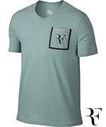 koszulka tenisowa męska NIKE RF STEALTH T-SHIRT / 803882-046