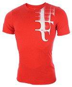 koszulka tenisowa męska NIKE RF TEE / 871729-653