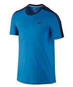 koszulka tenisowa męska NIKE TEAM COURT CREW / 644784-435