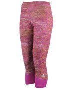 legginsy damskie 3/4 ADIDAS TECHFIT CAPRI PRINTED HEATHER / AY4321