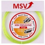 naciąg tenisowy MSV FOCUS EVO ROUGH 12M Yellow-Neon