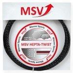 naciąg tenisowy MSV HEPTA-TWIST 12M Anthracite