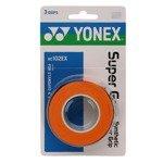 owijka tenisowa YONEX X3 SUPER GRAP ORANGE / AC102EX