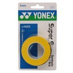 owijka tenisowa YONEX X3 SUPER GRAP YELLOW / AC102EX