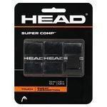 owijki tenisowe HEAD SUPER COMP X3 BLACK / TOH-021