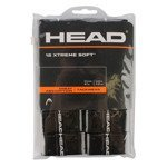 owijki tenisowe HEAD XTREME SOFT X12 BLACK / 285405