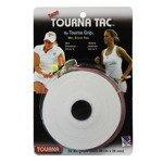 owijki tenisowe TOURNA TAC XL WHITE GRIPS X10 /0,65