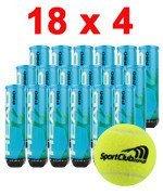 piłki tenisowe HEAD PRO LOGO SPORTCLUB.COM.PL 4x18 karton / 571221