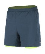 "spodenki do biegania męskie NIKE 5"" PURSUIT 2-IN1 SHORT / 683175-460"