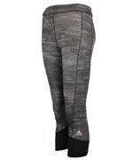spodnie sportowe damskie 3/4 ADIDAS TECHFIT CAPRI PRINTED HEATHER / AI2953