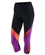 spodnie sportowe damskie 3/4 NIKE LEGENDARY CAPRI FABRIC TWIST / 725080-010