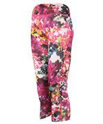 spodnie sportowe damskie ADIDAS ULTIMATE FIT 3/4 TIGHT FLOWER / AJ5031