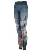 spodnie sportowe damskie ADIDAS WORKOUT LONG TIGHT CITY / AJ5066