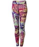 spodnie sportowe damskie REEBOK COMIC CLASH TIGHT / B45933